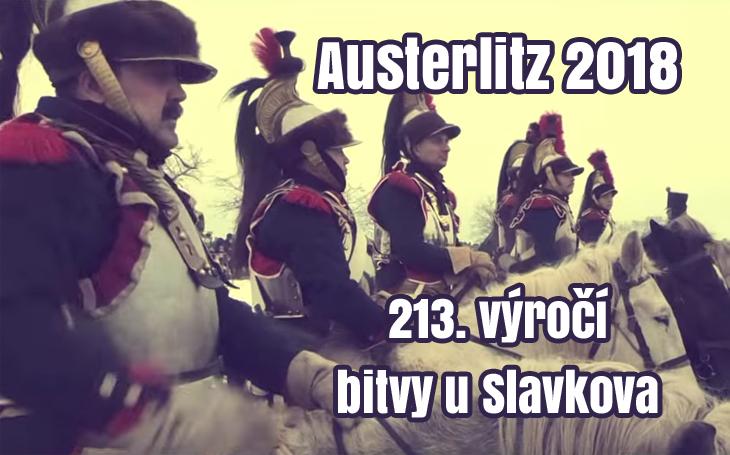 VIDEO: Austerlitz 2018 – 213. výročí bitvy u Slavkova (2.12.1805)