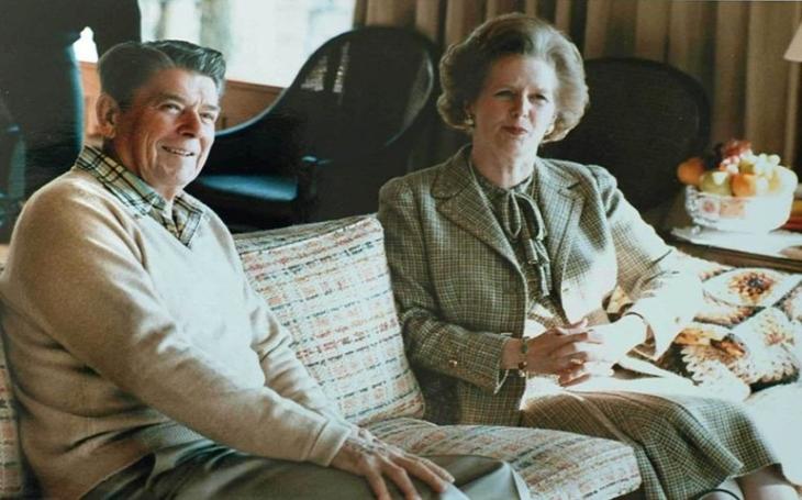 Jak Margaret Thatcherová s Ronaldem Reaganem ,,neuzbrojili&quote; Sovětský svaz