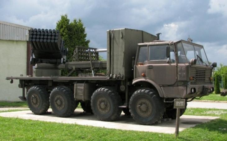Raketomet RM-70 Grad - mobilní dělostřelecká zbraň, která si zabojovala i na Srí Lance