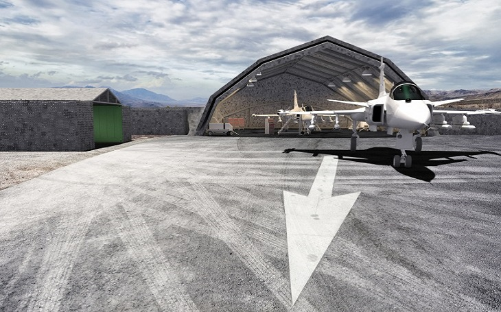 Společnost Saab získává objednávku na mobilní systém údržby letounů (Deployable Aircraft Maintenance Facility)