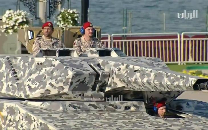 BVP Lynx od Rheinmetallu se představilo na vojenské přehlídce v Kataru