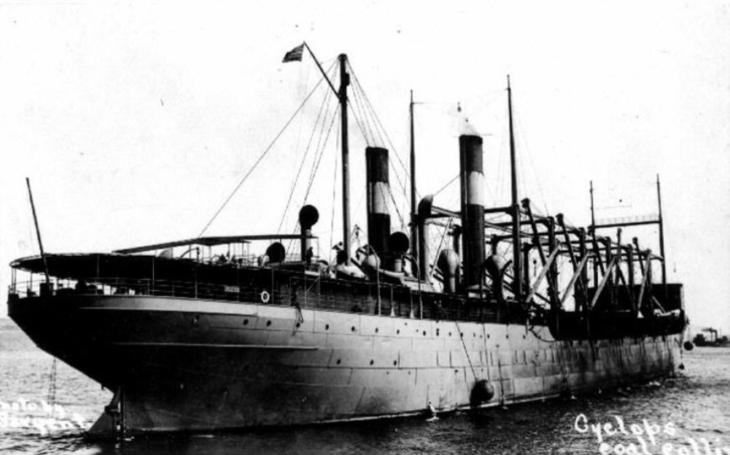 USS Cyclops - nákladní loď, která zmizela beze stopy
