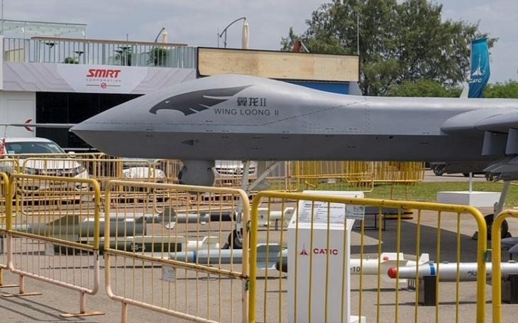 VIDEO: Nový čínský dron z kompozitního materiálu Wing Loong I-D absolvoval první let