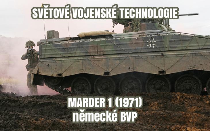 Bojové vozidlo pěchoty Marder 1 - BVP Bundeswehru (od r. 1971)