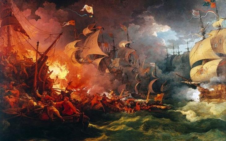 Španělské ,,Waterloo&quote; přišlo v bitvě u Gravelines. Angličané zdecimovali slavnou Armadu