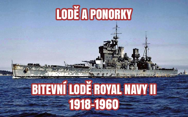 Bitevní lodě - Royal Navy II (1918–1960)