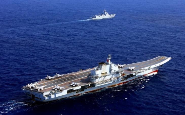 Druhá čínská letadlová loď ponese nejméně 36 stíhačů J-15