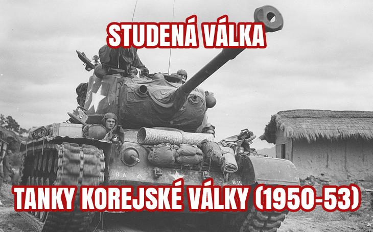 Západní a východní tanky – Korejská válka (1950-1953)