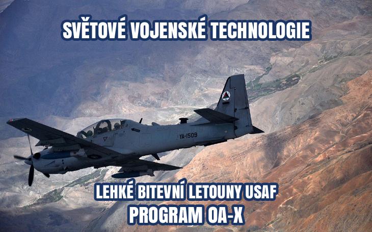 Lehké bitevní letouny USAF – soutěžní fáze programu LAAR odložena (2009-2019)