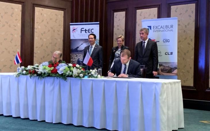 Česká společnost EXCALIBUR INTERNATIONAL navázala spolupráci s thajským partnerem v oblasti dodávek a výroby vojenských vozidel