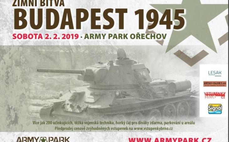 Re-enactment 2. světové války: Zimní bitva - Budapest 1945