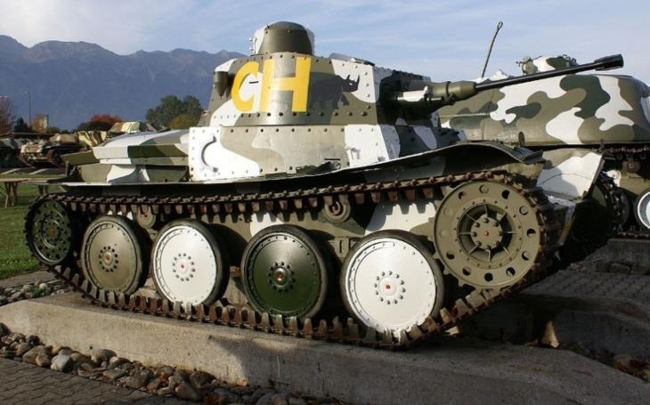 Lehký tank Praga LTH  - nejvýznamnější obrněná síla švýcarské armády během druhé světové války