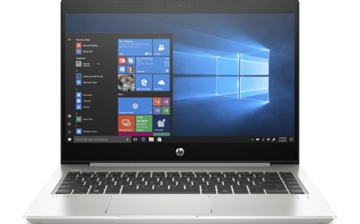 HP představilo nové notebooky HP ProBook 445 G6 a HP ProBook 455 G6 vybavené procesory AMD Ryzen™