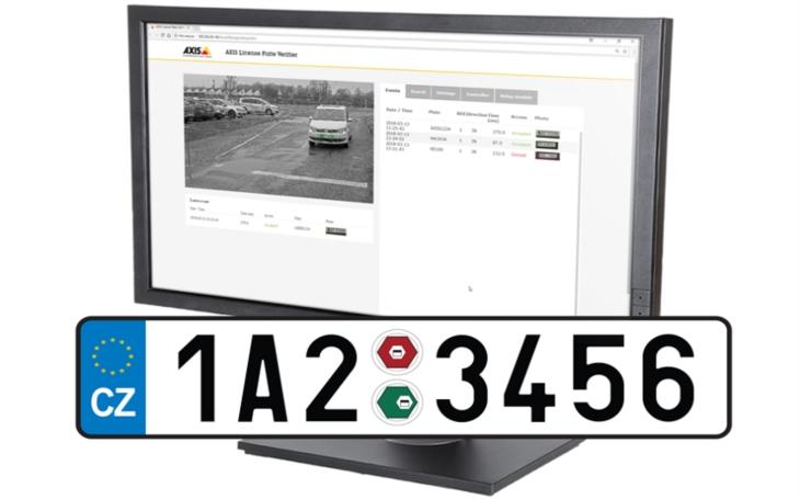 Axis uvádí na český trh dva nové přístupové systémy pro vozidla