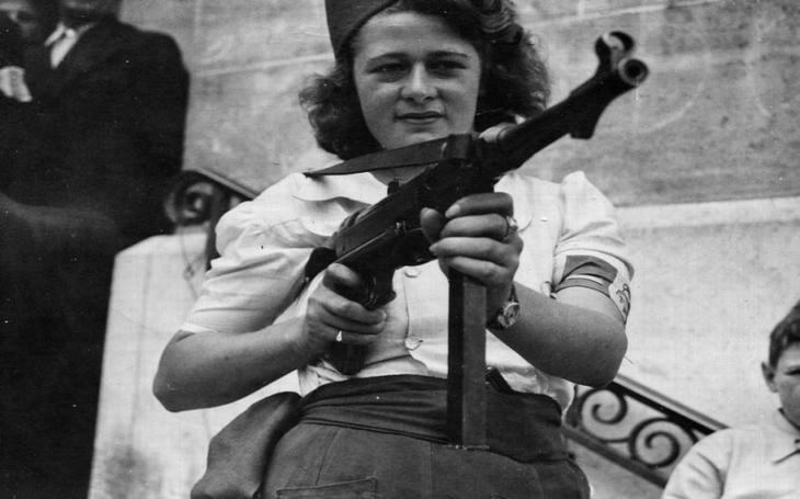 Jak osmnáctiletá hvězda francouzského odboje zajala 25 nacistů a další zabila
