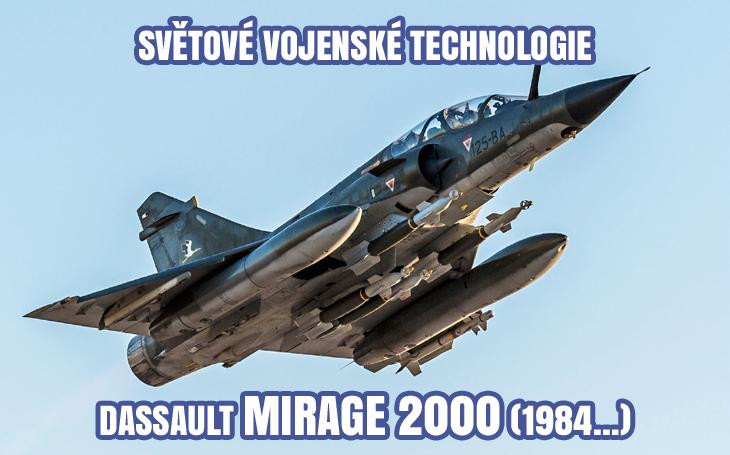 Dassault Mirage 2000 – francouzský stíhač 4. generace (1984)