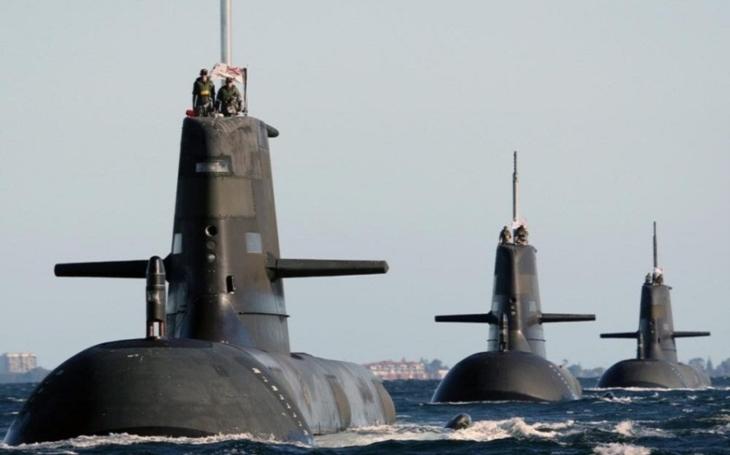 Austrálie podepsala s francouzskou společností Naval Group kontrakt na stavbu 12 moderních útočných ponorek