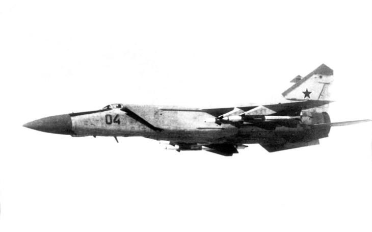 Navoněná bída - MiG-25 nikdy nepředstavoval nebezpečí pro americký SR-71 Blackbird