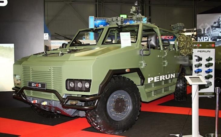 Vozidlo Perun fyzikální zákony neporazí: Po problémech s rychlostmi a váhou, neplní nájezdové úhly a stoupavost