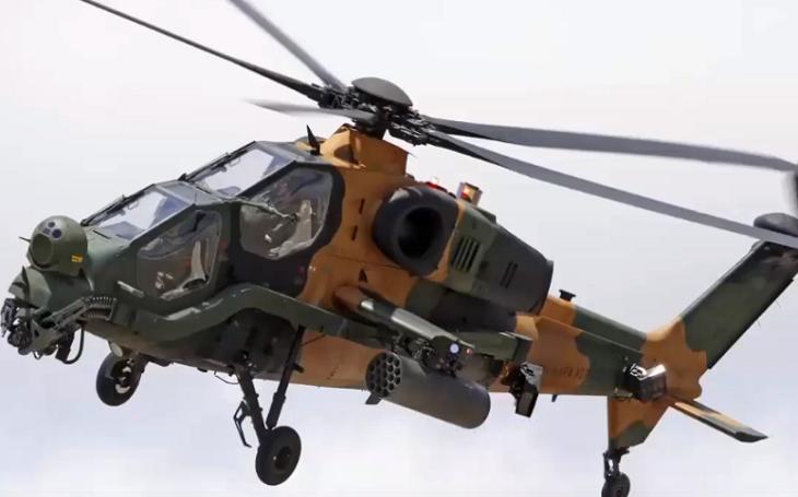 VIDEO: Turecko vyvíjí nový útočný těžký vrtulník ATAK 2