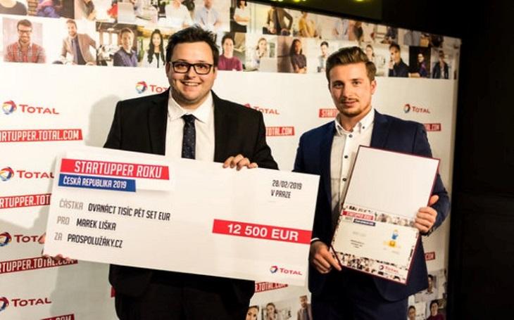 Vítězný projekt soutěže Startupper roku - ProSpolužáky.cz,  uspěl i v evropském finále