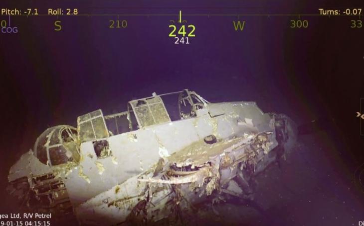 R/V Petrel nalezl vrak letadlové lodi USS Wasp (potopena 15. září 1942)