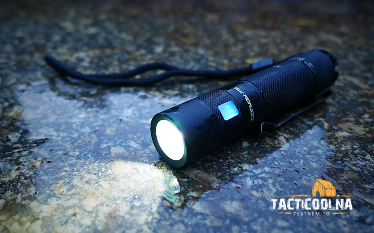 CONVOY S9 výkonná svítilna z Číny. Má to smysl? Video Tacticoolny