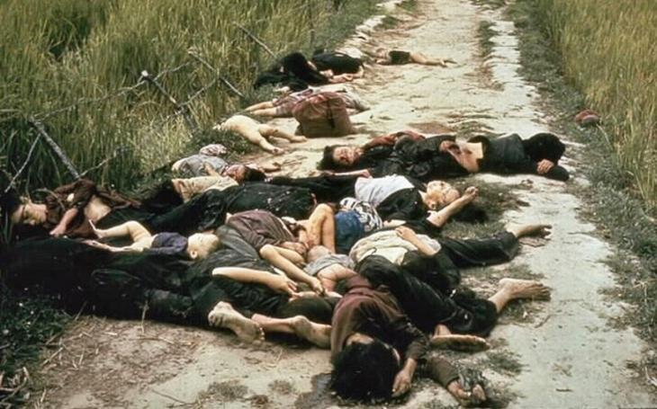 16. března 1968 se odehrál masakr v My Lai. Američtí vojáci zavraždili stovky vietnamských civilistů včetně dětí