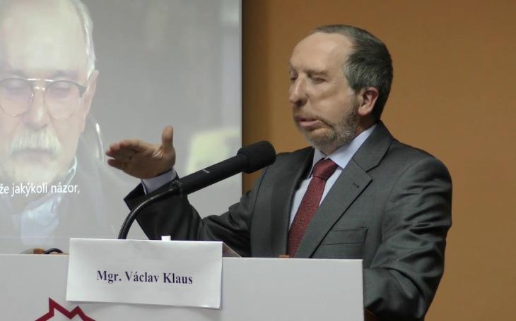 ODS udělala z Klause mladšího ,,mučedníka&quote;. Jeho vyloučení je chybou