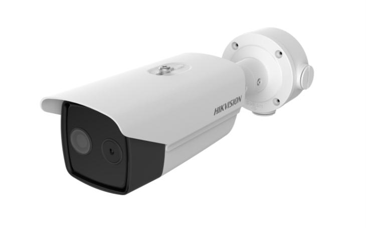 Hikvision představil bispektrální termální kameru kombinující termální senzor s optickým