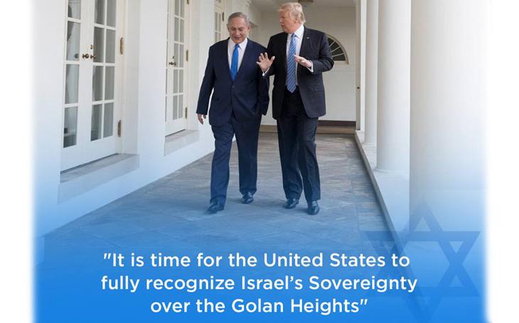 Trump: Golanské výšiny patří Izraeli