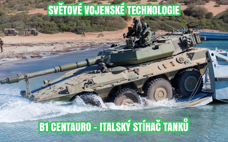 B1 Centauro – italský osmikolový stíhač tanků (1991-2019)