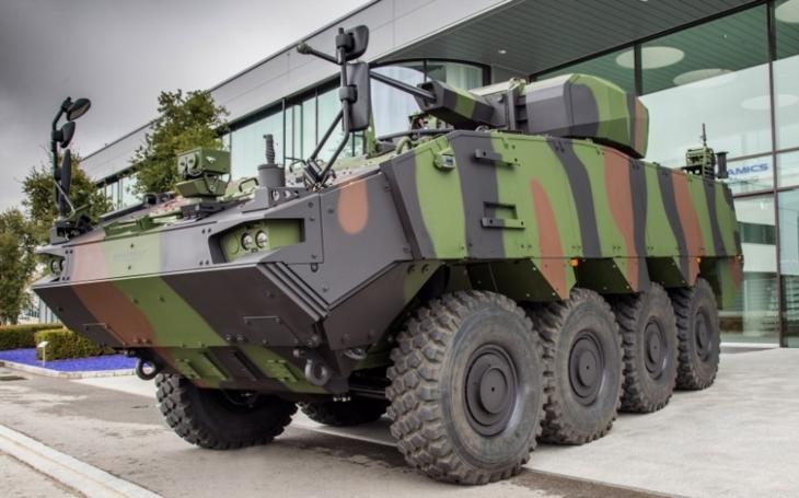 Program vozidel PIRANHA 5 pro Rumunsko – společnost General Dynamics European Land Systems dosáhla důležitého milníku