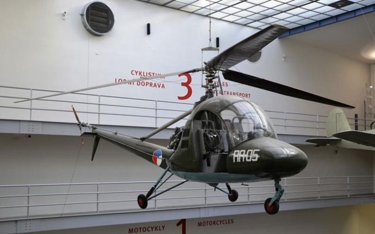 Aero HC-2 Heli Baby - jediný československý sériově vyráběný vrtulník