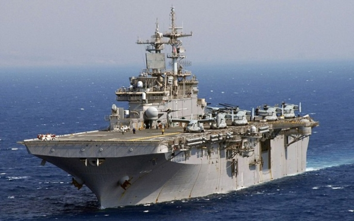 Vrtulníková výsadková loď jako efektivní nosič pro letouny F-35B může významně podpořit sílu US Navy