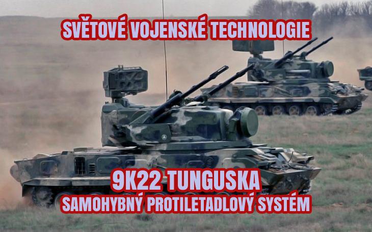 9K22 Tunguska - sovětský a ruský samohybný protiletadlový systém