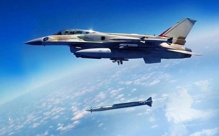 Izrael údajně použil supersonické střely vzduch-země Rampage při leteckých úderech v Sýrii
