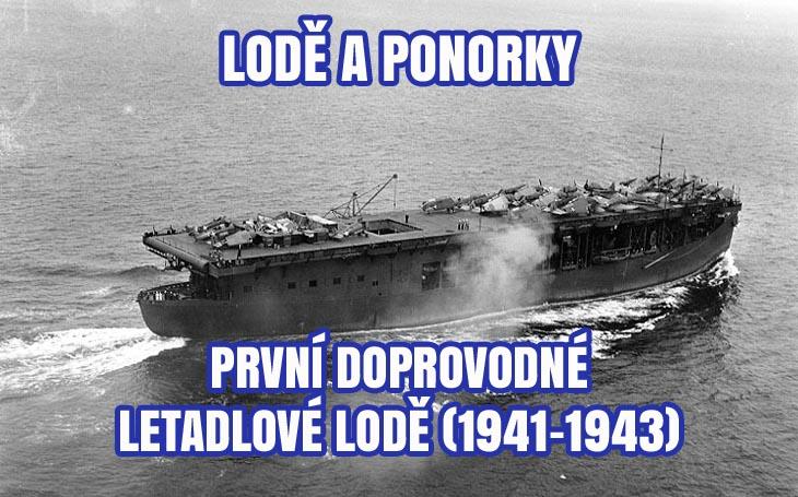 Protiponorková válka - první spojenecké eskortní letadlové lodě (1941-1943)