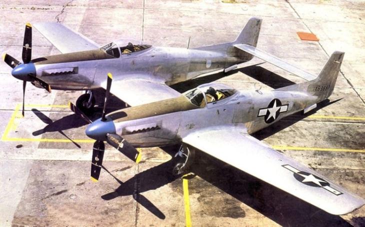 F-82 Twin Mustang - zapomenutý dvoutrupý noční stíhač na dlouhou vzdálenost