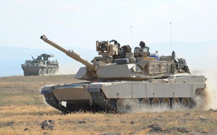Smrtící munice pro nejnovější generaci legendárního tanku. Sešrotuje vše, co mu stojí v cestě