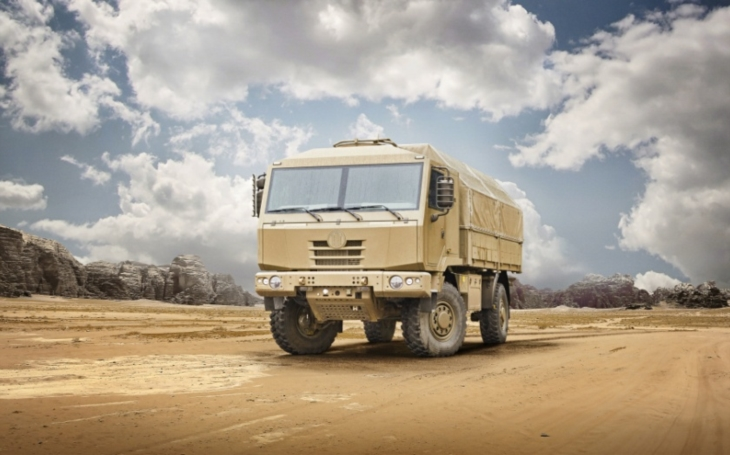 Tatra Tactic – kopřivnická novinka mezi taktickými nákladními automobily