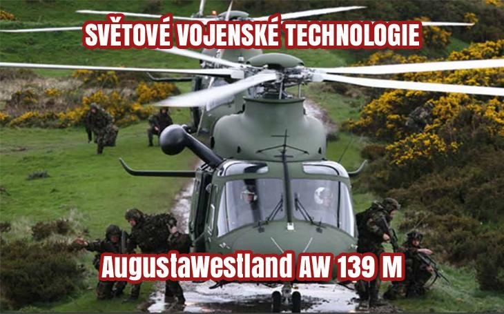 AgustaWestland AW139M – víceúčelový vrtulník vhodný pro AČR?