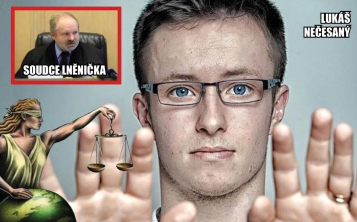 Osvobozený Lukáš Nečesaný podává ústavní stížnost. Odůvodnění rozsudku soudce Lněničky považuje za zákeřné