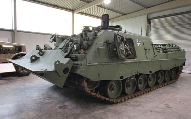Ozbrojené síly Nizozemska vybraly Rheinmetall pro modernizaci svých obrněných vyprošťovacích vozidel Bergepanzer 3 Büffel