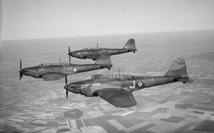 ,,Létající rakve&quote; aneb nejhorší letouny v historii druhé světové války (IV.) - pomalý a zastaralý bombardovací letoun Fairey Battle se stal oblíbeným terčem německých stíhačů