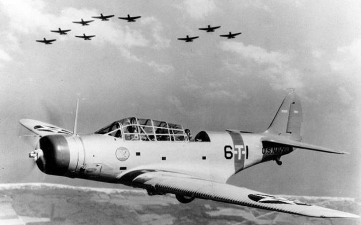 ,,Létající rakve&quote; aneb nejhorší letouny v historii druhé světové války (V.) - torpédový bombardér Douglas TBD Devastator byl pomalým a zastaralým strojem, který v boji selhal