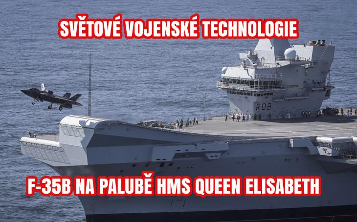 HMS Queen Elisabeth - F-35B námořní pěchoty Spojených států (2021)