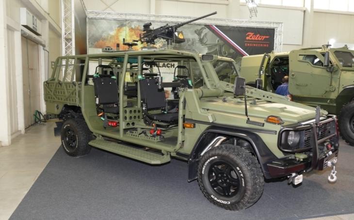 Budoucnost vozidel pro speciální a výsadkové jednotky Armády České republiky