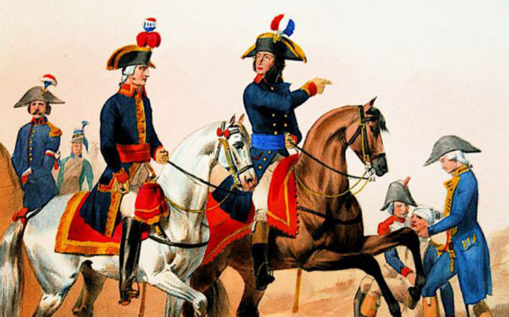 Napoleonova armáda - hodnostní stupně a jejich označení (1786-1815)