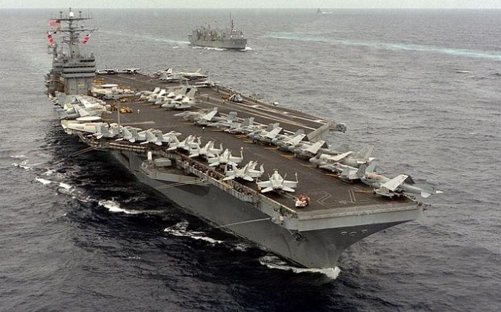 """Útok na lodě v Hormuzském průlivu jako ,,americké Gliwice""""? (komentář Lumíra Němce)"""